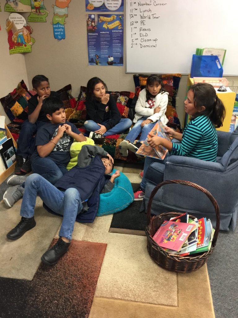 Peer-to-peer student-lead activity.