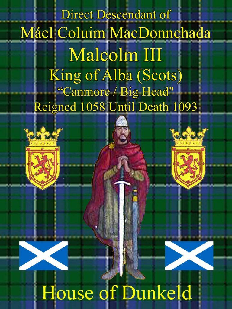 Mael Coluim Mac Donnachada King of Alba Scots