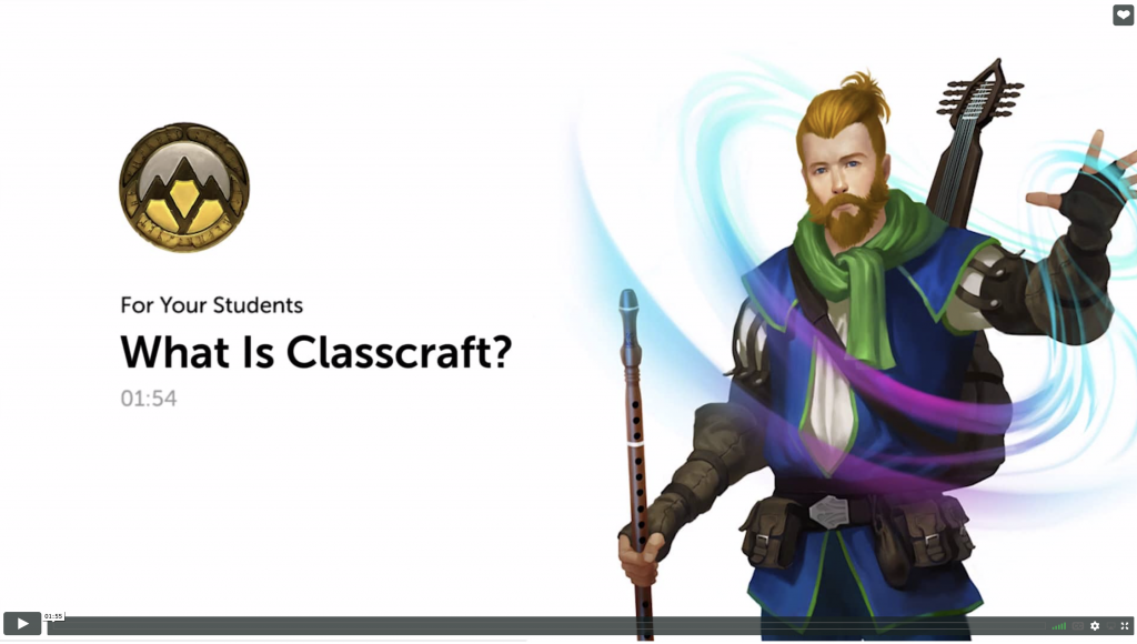 Classcraft video