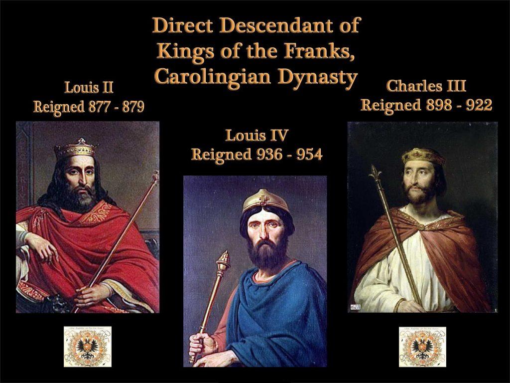 Kings of the Franks - Carolingian Dynasty