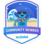 Wakelet Community Badge