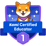Kami Certified Educator
