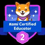 BADGE_Level 2_Kami Certified Educator