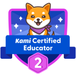 BADGE_Level 2_Kami Certified Educator
